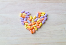 Vitamin pills Royalty Free Stock Photography