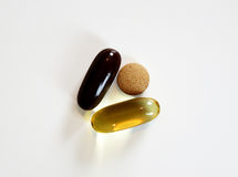 Vitamin Pills Royalty Free Stock Photos