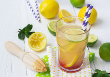 Vitamin refreshing cocktail with citrus and honey Stock Photography