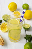 Vitamin refreshing cocktail with citrus and honey Royalty Free Stock Photo