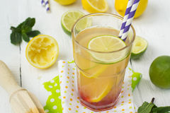 Vitamin refreshing cocktail with citrus and honey Stock Image