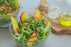 Vitamin rucola salad Royalty Free Stock Image