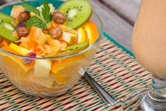 Vitamin salad Stock Photos