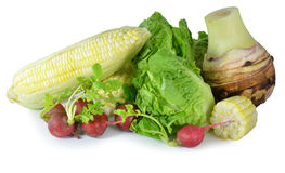 Vitamin set of vegetables Royalty Free Stock Photo