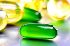 Vitamin supplements Stock Photography
