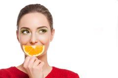 The vitamin treatment. Royalty Free Stock Image