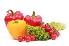 Vitamin vegetable collection Stock Photos
