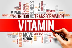 vitamina Imagen de archivo libre de regalías