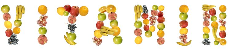 Vitamina Immagine Stock