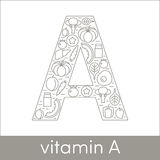 Vitamina A Immagini Stock Libere da Diritti