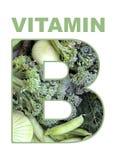 Vitamina b Fotografie Stock Libere da Diritti