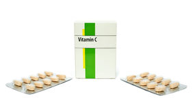 Vitamina C Imagenes de archivo