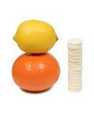 Vitamina C Fotografia de Stock