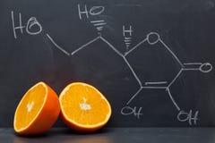 Vitamina C fotografie stock libere da diritti