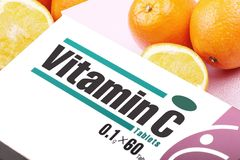 Vitamina C Immagine Stock