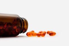 Vitamina de la medicina Imagenes de archivo