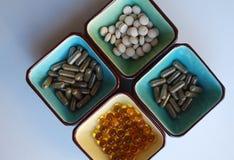Vitaminas Foto de archivo libre de regalías