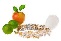 Vitaminas fotografia de stock