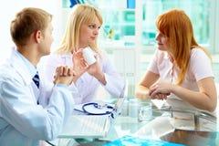 Vitaminas de prescrição Fotos de Stock Royalty Free