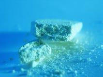 Vitaminas do cálcio imagem de stock