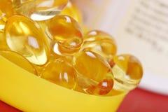 Vitaminas e minerais Foto de Stock Royalty Free