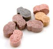 Vitaminas masticables Fotos de archivo