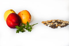 Vitaminas ou comprimidos? Foto de Stock Royalty Free