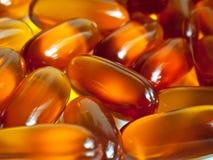 Vitaminas, píldoras Fotografía de archivo libre de regalías