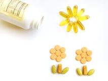 Vitaminas para el crecimiento sano Foto de archivo libre de regalías