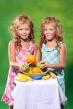 Vitaminas para miúdos Foto de Stock Royalty Free