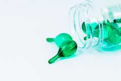 Vitaminas verdes Imagenes de archivo
