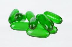 Vitaminas verdes Fotografía de archivo libre de regalías