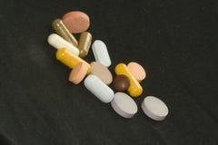 Vitaminas y minerales fotos de archivo libres de regalías