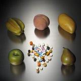 Vitamine Royalty-vrije Stock Fotografie