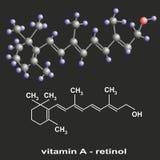 Vitamine A Stock Afbeelding