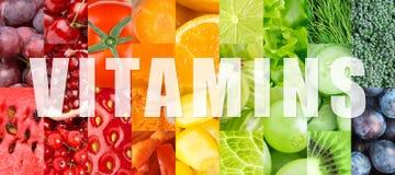 Vitamine Lizenzfreie Stockfotos