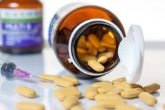 vitamine Royalty-vrije Stock Foto