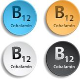 Vitamine B12 Royalty Free Stock Images