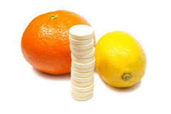 Vitamine C images stock