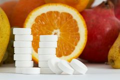 Vitamine C Image libre de droits