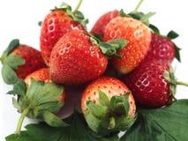 Vitamine C de rouge de fruit de fraise images libres de droits