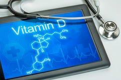 Vitamine D royalty-vrije stock afbeeldingen