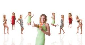 Vitamine d'activité Images libres de droits