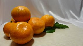 Vitamine della prima colazione della frutta fresca del mandarino immagini stock