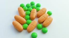 Vitamine, droghe, fine su stock footage