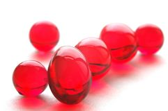 Vitamine-e Stock Afbeelding