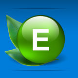 Vitamine E stock illustratie