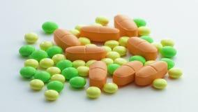 Vitamine, minerali, fine su stock footage