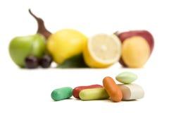 Vitamine naturali Fotografia Stock Libera da Diritti