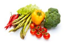 Vitamine plantaardige inzameling Stock Fotografie